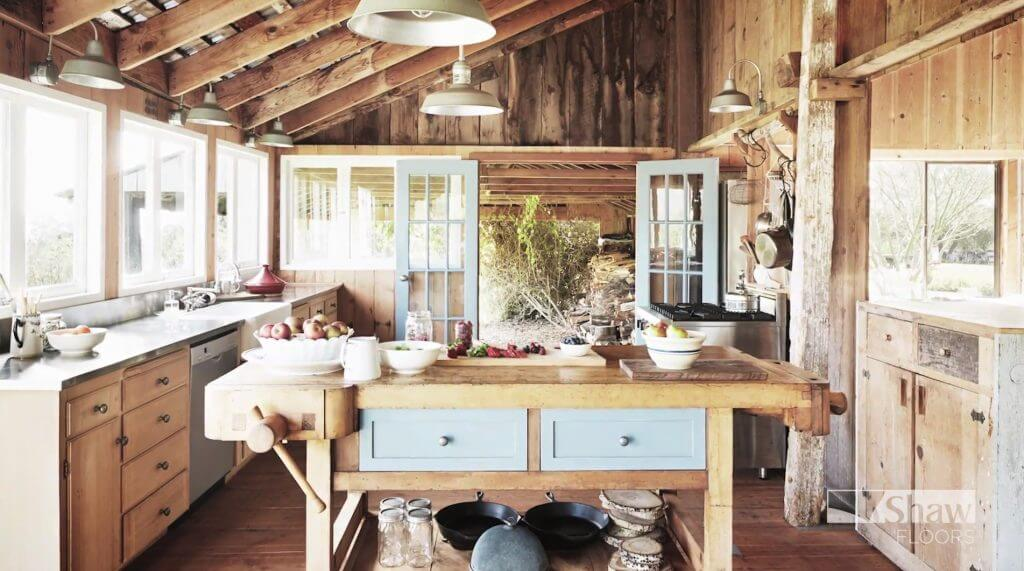 Shaw Extreme Nature kitchen