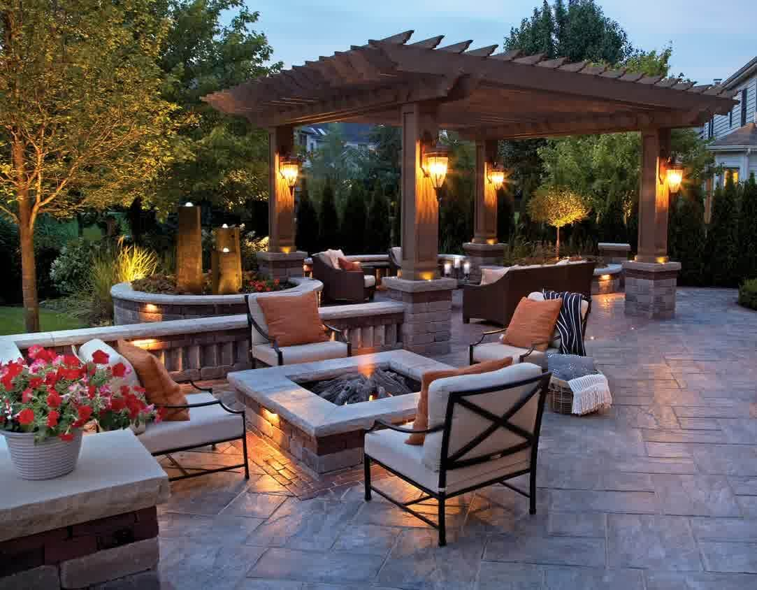 patio ideas with fire pit on a budget craft room Bath