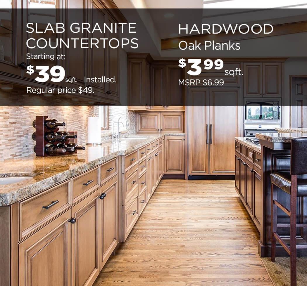 Hardwood-counters