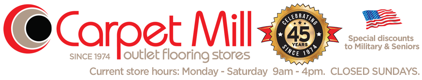 Carpet Mill Outlet Stores Logo